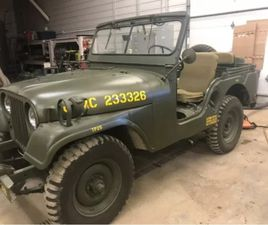 1953 WILLYS M38A1 FOR SALE