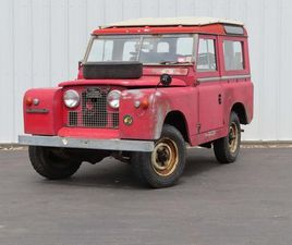 1965 LAND ROVER SERIES 2 FOR SALE