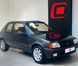 USED 1987 PEUGEOT 205 1.9 GTI 3D 130 BHP HATCHBACK 49,212 MILES IN GREY FOR SALE | CARSITE
