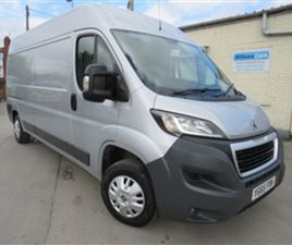 USED 2015 PEUGEOT BOXER HDI 335 L3H2 PROFESSIONAL PV 2015 NOT SPECIFIED 39,000 MILES IN SI