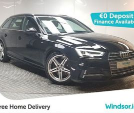 AUDI A4 AVANT S LINE TDI 150 START/STOP FOR SALE IN DUBLIN FOR €25,995 ON DONEDEAL