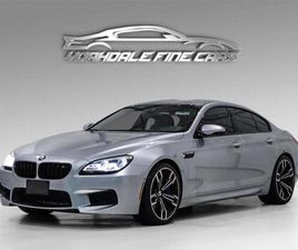 USED 2018 BMW M6 GRAN COUPE ULTIMATE *INDIVIDUAL* PURE METAL SILVER B&O SOUND