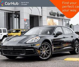 USED 2019 PORSCHE PANAMERA 4 SPORT TURISMO AWD HEATED & VENTED SEATS PANORAMIC ROOF