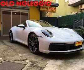PORSCHE 992 S CABRIOLET *SOLO NOLEGGIO/ONLY RENT*