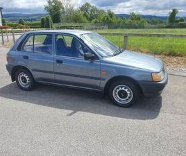 TOYOTA STARLET 1994. LOW MILEAGE. NEW NCT FOR SALE IN TIPPERARY FOR €2,850 ON DONEDEAL