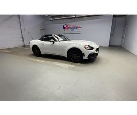 WHITE COLOR 2020 FIAT 124 SPIDER ABARTH FOR SALE IN VICTOR, NY 14564. VIN IS JC1NFAEKXL014