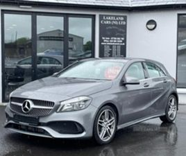 USED 2018 MERCEDES-BENZ A CLASS 200 DMG LINE EXECUTIV HATCHBACK 60,000 MILES IN GREY FOR S