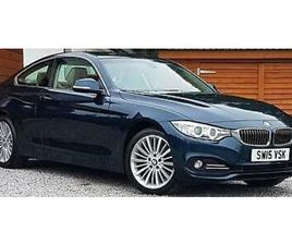 2015 BMW 4 SERIES 430D XDRIVE LUXURY AUTO COUPE DIESEL AUTOMATIC