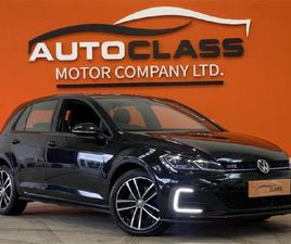 VOLKSWAGEN GOLF GTE 1.4 TSI 204 PS 6-SPEED DSG 55 FOR SALE IN DUBLIN FOR €25,950 ON DONEDE