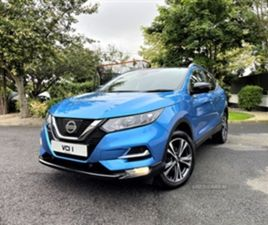 USED 2018 NISSAN QASHQAI N-CONNECTA DCI MPV 89,000 MILES IN BLUE FOR SALE | CARSITE