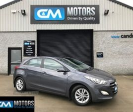 USED 2013 HYUNDAI I30 STYLE BLUE DRIVE CRDI HATCHBACK 90,000 MILES IN GREY FOR SALE | CARS