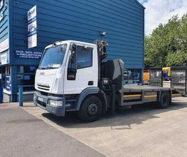 2005 IVECO EUROCARGO MACHINERY CARRIER ANDCRANE FOR SALE IN DUBLIN FOR €UNDEFINED ON DONED