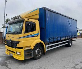 01 MERCEDES ATEGO 1823 18 TON CURTAINSIDER FOR SALE IN ARMAGH FOR €UNDEFINED ON DONEDEAL