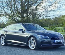 AUDI A5,40TDI S-LINE SPORTBACK SOLD 190BHP AUTO FOR SALE IN KILDARE FOR €UNDEFINED ON DONE