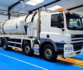 2011 (61) DAF CF 85.360 VACTANK, EURO 5, 8X2 REAR- FOR SALE IN MONAGHAN FOR €UNDEFINED ON