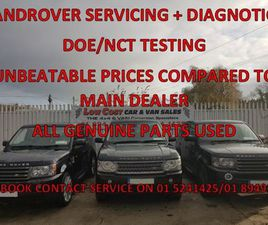 LAND ROVER RANGE ROVER LANDROVER SERVICING FOR SALE IN DUBLIN FOR €UNDEFINED ON DONEDEAL