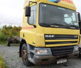 05 DAF CF 65.220 FOR BREAKING FOR SALE IN DONEGAL FOR €UNDEFINED ON DONEDEAL