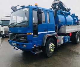 1997 VOLVO FL6-18 4X2 ON AIR, JETTER/VACUM FOR SALE IN ARMAGH FOR €UNDEFINED ON DONEDEAL