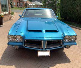 1972 PONTIAC GTO 400 AUTO, 4 BARREL - ORIGINAL CANADIAN OWNER | CLASSIC CARS | CITY OF TOR