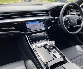 USED 2021 AUDI A8 50 TDI QUATTRO BLACK EDITION 4DR TIPTRONIC SALOON 5 MILES IN GREY FOR SA