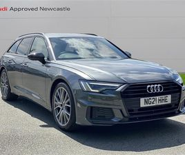 USED 2021 AUDI A6 40 TDI BLACK EDITION 5DR S TRONIC ESTATE 3,000 MILES IN GREY FOR SALE |