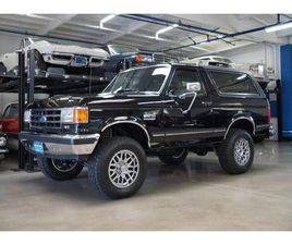 1991 FORD BRONCO SUV 4WD