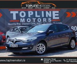 RENAULT MEGANE LIMITED EDITION 1.5 DCI//SUNROOF/ FOR SALE IN DUBLIN FOR €10,950 ON DONEDEA