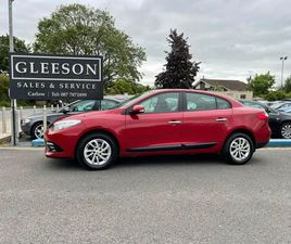 13 RENAULT FLUENCE - LOW MILEAGE. NCT 05-23 FOR SALE IN CARLOW FOR €7,650 ON DONEDEAL
