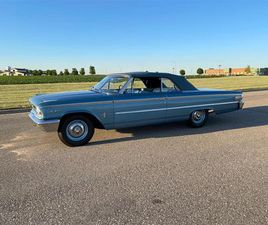 FOR SALE: 1963 FORD GALAXIE 500 IN ROCHESTER, MINNESOTA