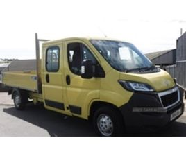 USED 2014 PEUGEOT BOXER 335 L3 HDI NOT SPECIFIED 48,000 MILES IN YELLOW FOR SALE | CARSITE