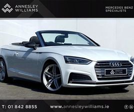 AUDI A5 A5 S LINE 40 TDI 190 S TRONIC AUTO FOR SALE IN DUBLIN FOR €48,950 ON DONEDEAL
