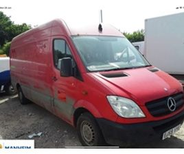 USED 2010 MERCEDES-BENZ SPRINTER 311 CDI LWB PV NOT SPECIFIED 236,000 MILES IN RED FOR SAL