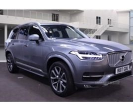 USED 2017 VOLVO XC90 INSCRIPTION D5 PP AWD AUTO ESTATE 56,100 MILES IN GREY FOR SALE | CAR