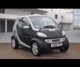 USED 2002 SMART FORTWO PASSION 50 AUTO HATCHBACK 26,000 MILES IN SILVER FOR SALE   CARSITE