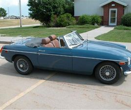 FOR SALE: 1971 MG MGB IN CADILLAC, MICHIGAN