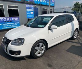 VOLKSWAGEN GOLF 1.4 TSI GT SPORT 140BHP FOR SALE IN DUBLIN FOR €5,450 ON DONEDEAL
