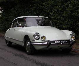 1963 CITROEN DS 19 PALLAS