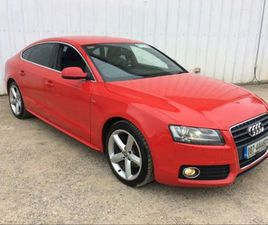 AUDI A5 2.0 TDI S LINE SPORTBACK 49 EURO P/W FINA FOR SALE IN LIMERICK FOR €10,250 ON DONE