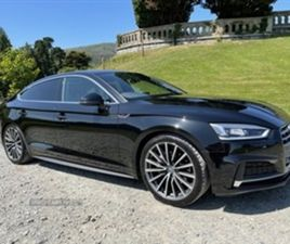 USED 2019 AUDI A5 S LINE 40 TDI S-A HATCHBACK 35,543 MILES IN BLACK FOR SALE | CARSITE
