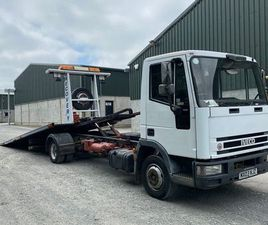 2003 IVECO EUROCARGO TILT & SLIDE RECOVERY TRUCK FOR SALE IN DOWN FOR £4,350 ON DONEDEAL