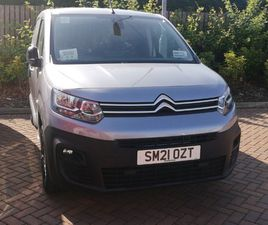 NEARLY NEW 2021 (21) CITROËN BERLINGO 1.5 BLUEHDI 1000KG DRIVER 130PS EAT8 [START STOP] IN