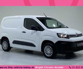 CITROEN BERLINGO LX 1.5 BLUEHDI 75 650KG M FOR SALE IN DUBLIN FOR €15,821 ON DONEDEAL