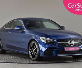 MERCEDES-BENZ C-CLASS AMG LINE C200 9G-TRONIC BLU FOR SALE IN DUBLIN FOR €47,890 ON DONEDE