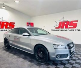 USED 2011 AUDI S5 3.0 TFSI SPORTBACK S TRONIC QUATTRO 5DR HATCHBACK 94,519 MILES IN GREY F