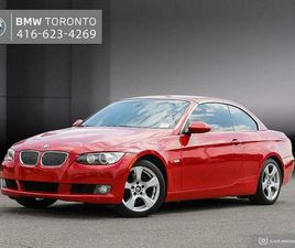 2008 BMW 328I CABRIOLET | CRIMSON RED ON CORAL RED LEATHER | CARS & TRUCKS | CITY OF TORON
