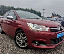 USED 2013 CITROEN C4 SELECTION HDI HATCHBACK 76,877 MILES IN RED FOR SALE | CARSITE