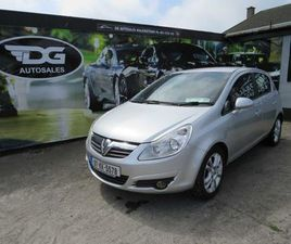 OPEL CORSA, 2007 5DR LOW MILEAGE AUTO FOR SALE IN DUBLIN FOR €2,999 ON DONEDEAL