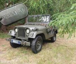WILLYS JEEP ORIGINELE FULL MATCHING NUMBERS NEKAF M38A1 JEEP UIT 1955 (