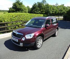 2013 SKODA YETI 2.0TDI 4X4 FOR SALE IN TYRONE FOR £6,950 ON DONEDEAL