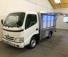 2013 TOYOTA DYNA 3.0 D-4D 300 SWB 2DR SPECIALIST VEHICLE DIESEL MANUAL